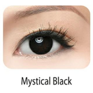 NT – Kính áp tròng Freshkon – Màu đen – có độ cận ( Tặng kèm khay đựng lens)
