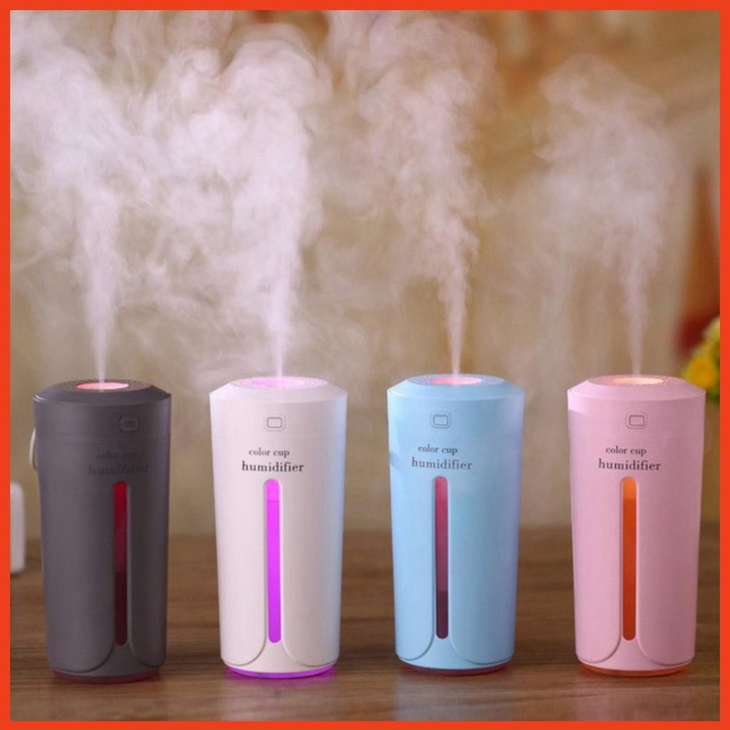 💦Máy phun sương💦Máy tạo ẩm mini hình cốc Color Cup Humidifier