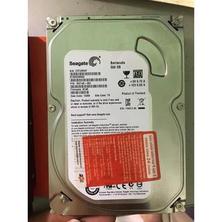 [Mã ELFLASH5 giảm 20K đơn 50K] HDD ổ cứng PC 500G các loại - Tặng kèm cáp Sata
