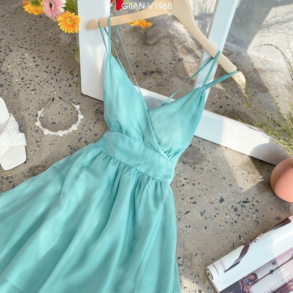 Váy lưng đan dây quyến rũ, váy lưng đan dây hở lưng mã V1968 : Lici