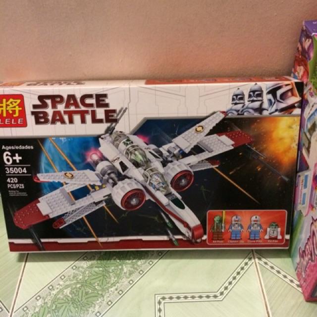 Mẫu Xếp Hình SpaceBattle 35004 StarWar