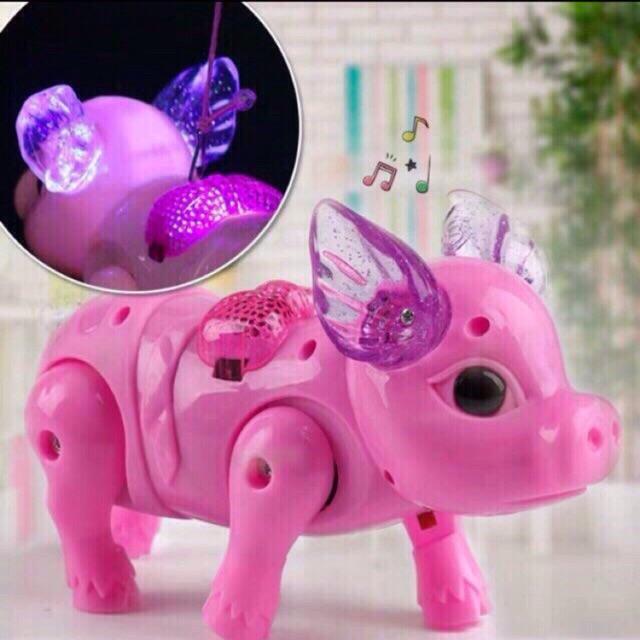lợn đồ chơi biết đi biết hát km 3pin