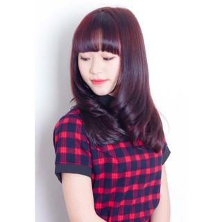 thuốc nhuộm tóc đỏ tím + tặng kèm oxy trợ dưỡng thumbnail