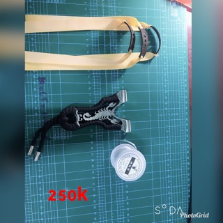 Ná Bò Cạp Inox 304 Tặng 3 thun 1 cuộn dây cột