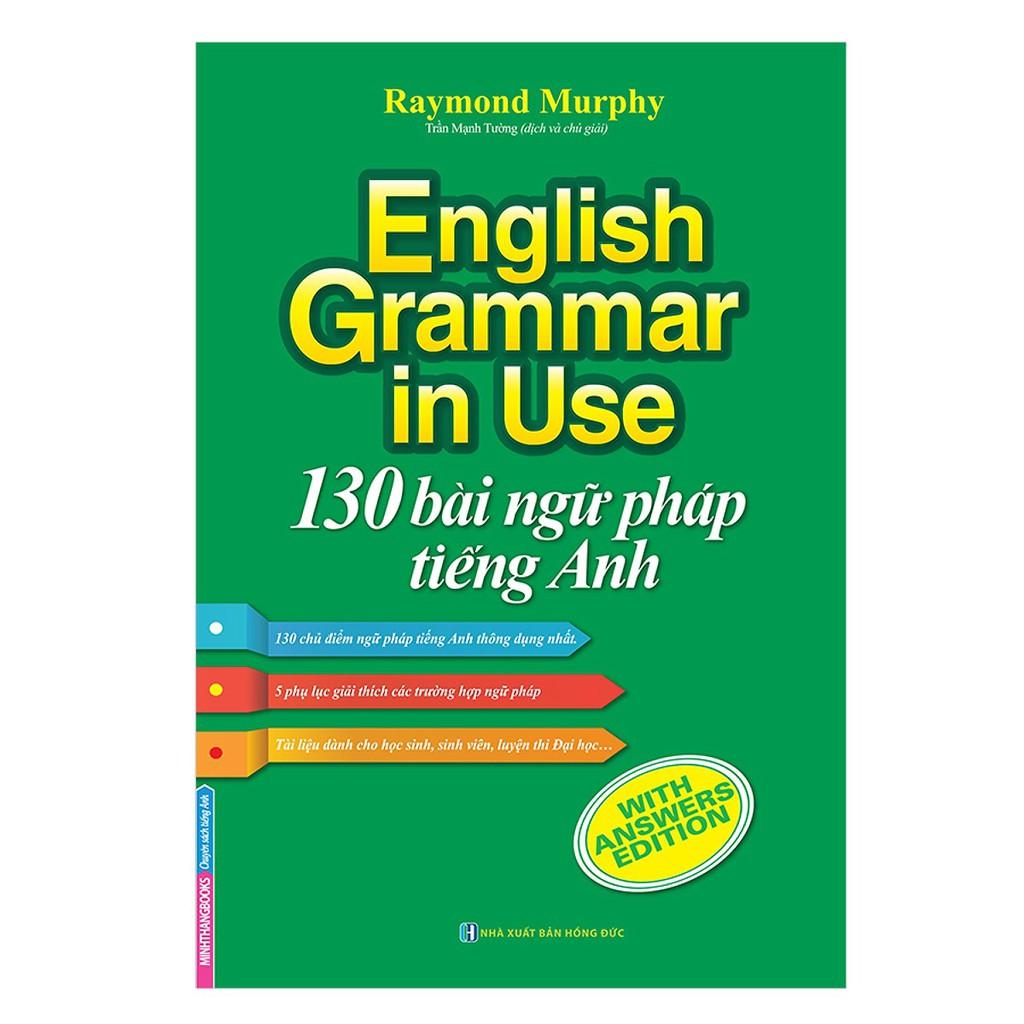 Sách - English Grammar In Use - 130 Bài Ngữ Pháp Tiếng Anh