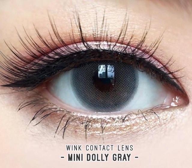 Lens Dolly eye Xám tro 0 độ