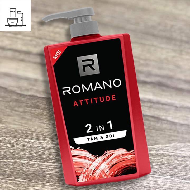 Tắm gội Romano Attitude 2in1 650gR