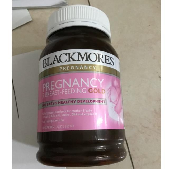Thuốc uống cho bầu Blackmores