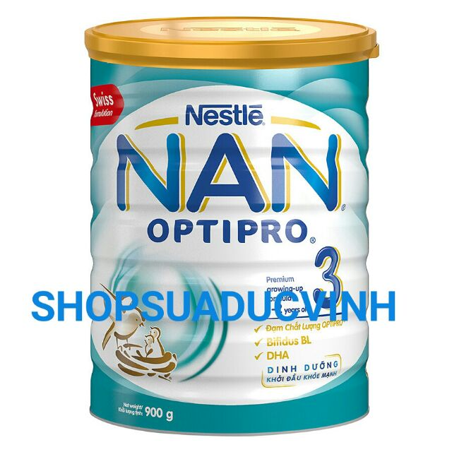 (TKB0718W2B giảm 3% tối đa 20k) MẪU MỚI Sữa bột Nestle Nan 3 900g date 08/2019 - 2555083 , 39649890 , 322_39649890 , 355000 , TKB0718W2B-giam-3Phan-Tram-toi-da-20k-MAU-MOI-Sua-bot-Nestle-Nan-3-900g-date-08-2019-322_39649890 , shopee.vn , (TKB0718W2B giảm 3% tối đa 20k) MẪU MỚI Sữa bột Nestle Nan 3 900g date 08/2019