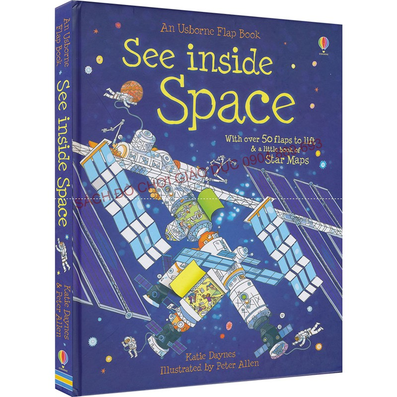 See inside Space - Usborne lift the flap book