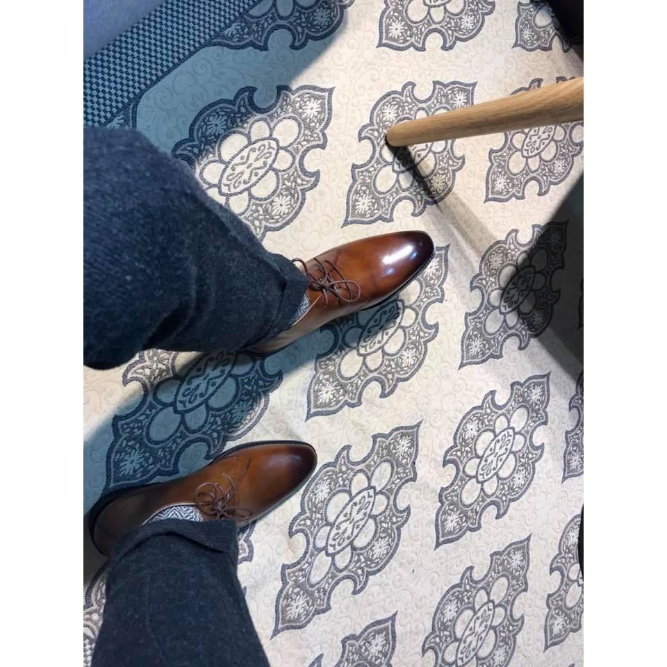 Giày Da Nam Tăng Chiều Cao Xuất Khẩu cao cấp