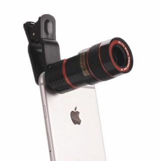 Ống len 8X Zoom camera phù hợp mọi loại điện thoại – Ống nhòm X8 cho điện thoại
