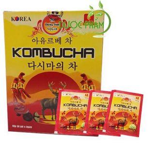 Combo trà dinh dưỡng Kombucha