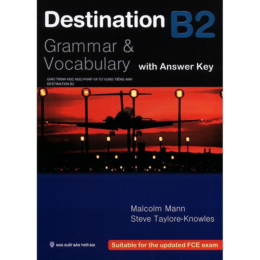 Sách - Destination B2 : Grammar & Vocabulary