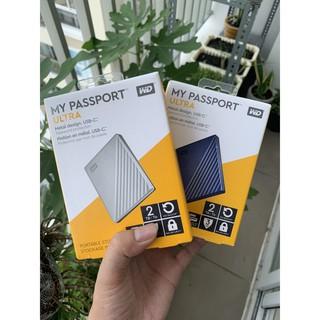 Ổ cứng di động Passport Ultra 2T Usb 3.1 type C, gen2, vỏ kim loại