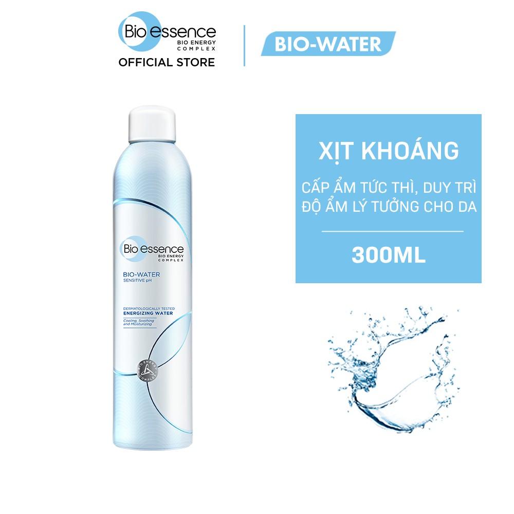 [Bán chạy số 1] Nước xịt khoáng dưỡng da ẩm mượt mịn màng Bio-Essence Bio-Water Water Energizing 300ml