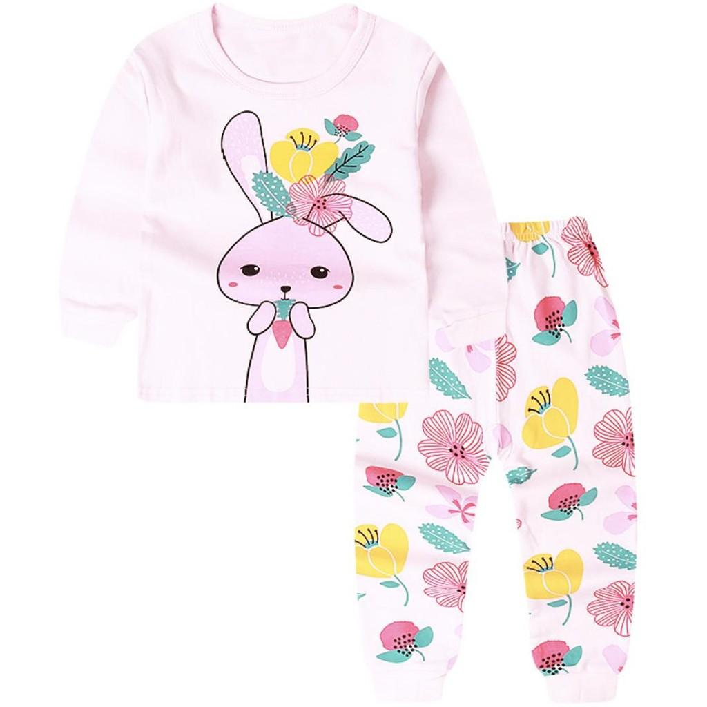 [VIDEO] Bộ quần áo dài tay bé gái thu đông chất liệu cotton mềm mát in hình NÀNG TIÊN CÁ phong cách Hàn Quốc siêu xinh