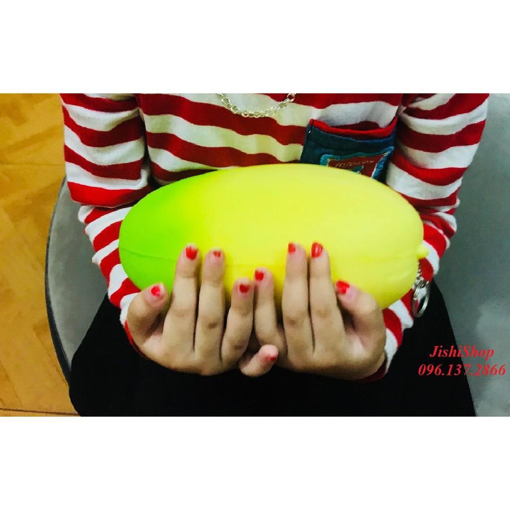 ( quà tặng ) QUẢ XOÀI khổng lồ màu vàng xanh- SQUISHY đồ chơi cho trẻ rẻ (đẹp)