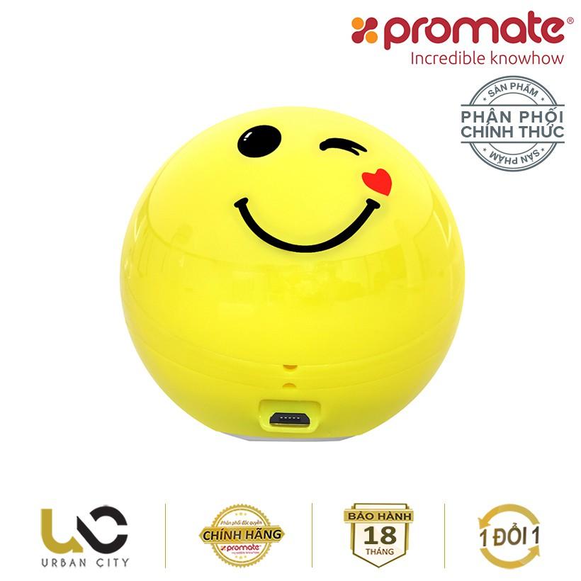 Loa Bluetooth Promate FlirtyFunk biểu tượng Winking Face - Hàng Chính Hãng - 3551410 , 1304279088 , 322_1304279088 , 349000 , Loa-Bluetooth-Promate-FlirtyFunk-bieu-tuong-Winking-Face-Hang-Chinh-Hang-322_1304279088 , shopee.vn , Loa Bluetooth Promate FlirtyFunk biểu tượng Winking Face - Hàng Chính Hãng