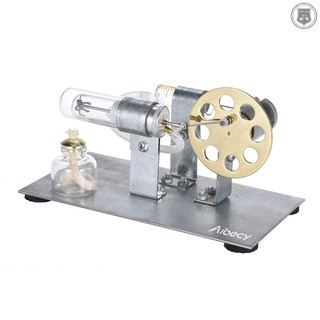 R&L✔✔Aibecy Mini Hot Air Stirling Engine Motor Model Stream Power Physics Experiment Educational Toy