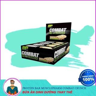 [XẢ KHO] [Sale] Thay Thế Bữa Ăn Bổ Sung Đầy Đủ Dinh Dưỡng Protein Bar Musclepharm Combat Crunch (12 thanh) thumbnail