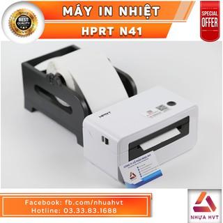 [RẺ NHẤT SHOPEE] Máy in nhiệt chuyên dụng in đơn hàng Online HPRT N41 – Trắng