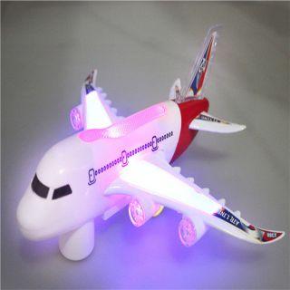 Máy bay A380 âm nhạc đèn led hàng loại 1.