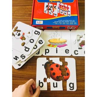 Bộ đánh vần từ Tiếng Anh Match- it Spelling