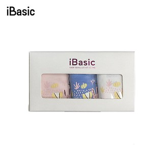 Hộp 3 quần lót bé gái cotton dạng đùi iBasic PANG009