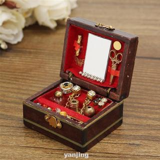 Accessories Classical Gift Luxury Miniatures Decoration Jewelry Box