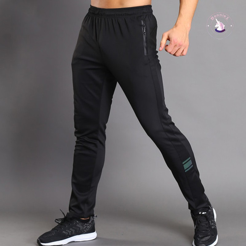 ❤Ready Stock❤ Men Sport Pants Trousers Breathable Casual for Running Training Fitness Summer