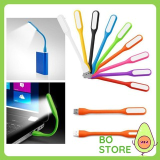 Đèn LED USB 🔴FREESHIP🔴 Đèn Đọc Sách Cắm Cổng USB Máy Tính, Sạc Dự Phòng Tiện Dụng Gọn Nhẹ