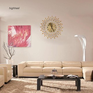 Đồng hồ treo tường trang trí nội thất in họa tiết 3D 15 inch