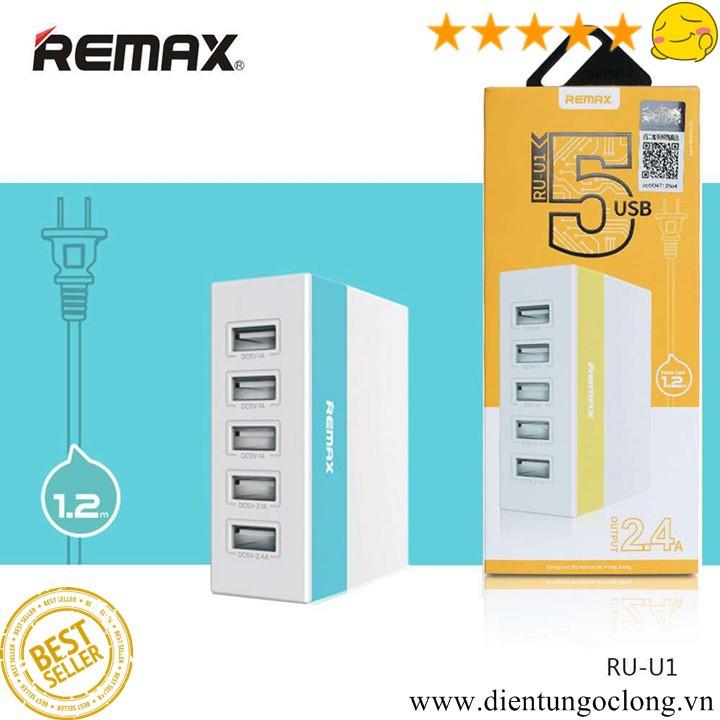 Củ Sạc REMAX RU-U1 5 cổng