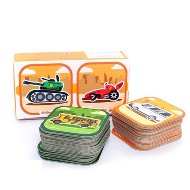 Bộ 48 thẻ 3D xếp hình Ekidar (chủ đề xe cộ ) - 21545130 , 1075191529 , 322_1075191529 , 79000 , Bo-48-the-3D-xep-hinh-Ekidar-chu-de-xe-co--322_1075191529 , shopee.vn , Bộ 48 thẻ 3D xếp hình Ekidar (chủ đề xe cộ )