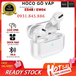 ⚡NowShip Mới⚡ Tai Nghe Âm Thanh Hay Airpods Pro Bluetooth True Wireless Hoco ES48 Phân Phối Chính Hãng Hoco