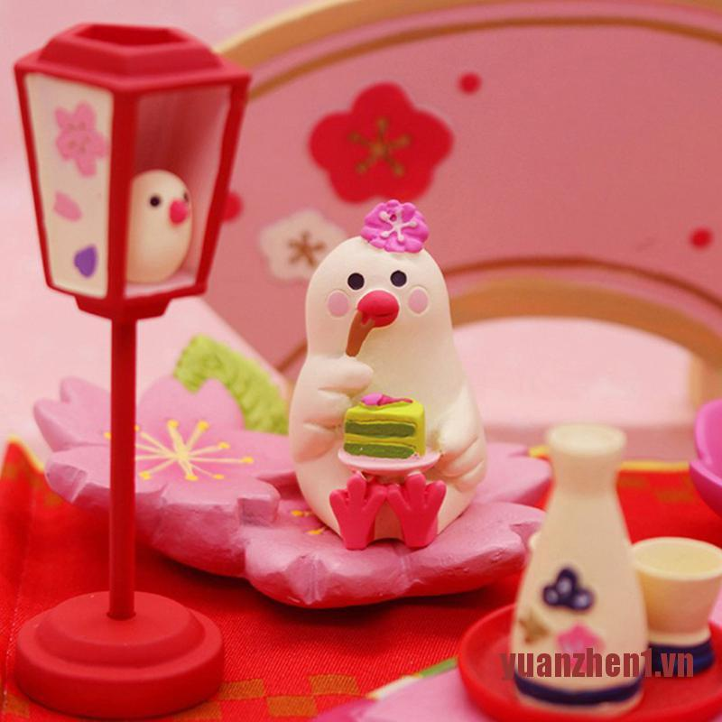 ZHEN Wenniao lantern Doll House Miniature Food and play scene shooting props orn