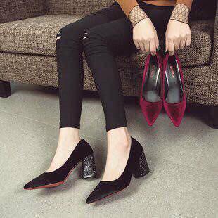 Giày cao gót 7p đế kim tuyến - 3577986 , 1227792413 , 322_1227792413 , 129000 , Giay-cao-got-7p-de-kim-tuyen-322_1227792413 , shopee.vn , Giày cao gót 7p đế kim tuyến