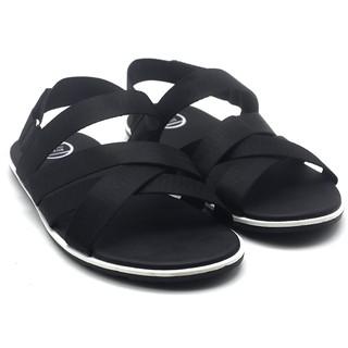 [Mã MABRMALL10 hoàn 10% đơn 150K tối đa 30K xu] Giày sandal 3 quai ngang nam A699 thời trang Evest thumbnail