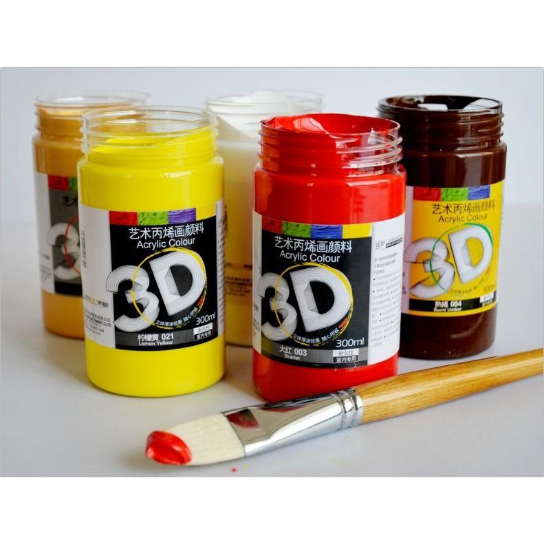 Hộp sơn màu 3D và 5D