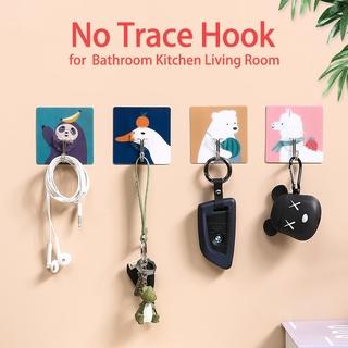 Móc treo dán tường tự dính chống thấm nước chống dầu tiện dụng cho nhà bếp phòng tắm và phòng khách thumbnail