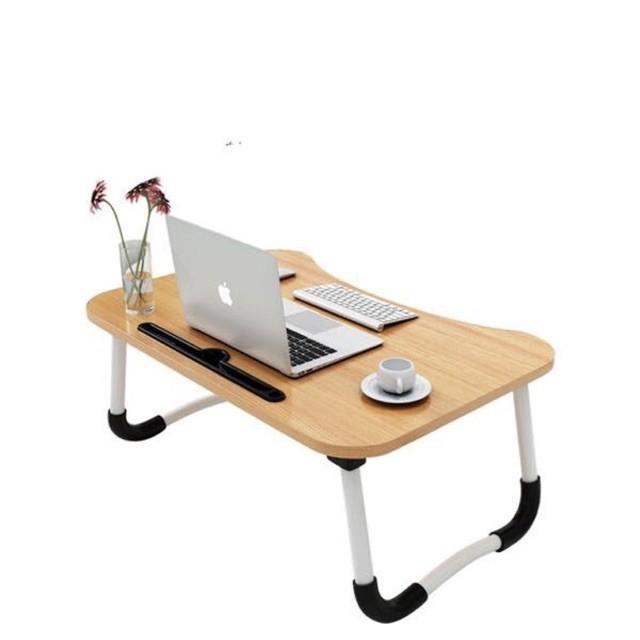 Bàn học gấp gọn thông minh có khe cắm ipad kèm bút