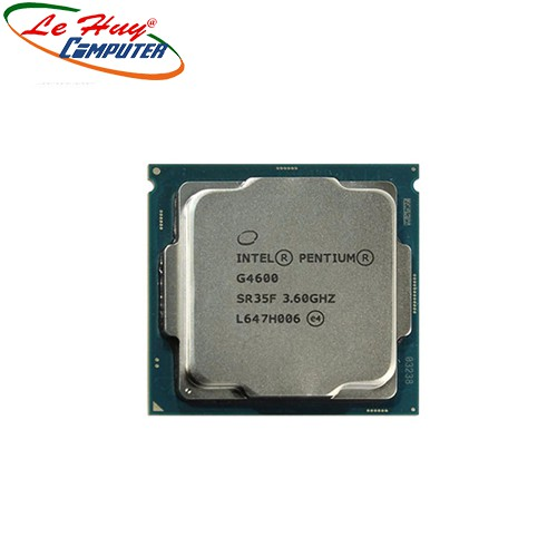 CPU Intel Pentium G4600  TRAY chưa gồm Fan