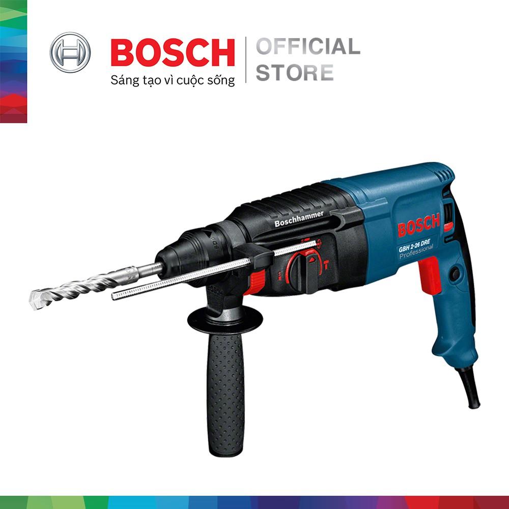 [NHẬP BOSCH10 GIẢM 10%] Máy khoan búa Bosch GBH 2-26 DRE - 3603141 , 1285081172 , 322_1285081172 , 5820000 , NHAP-BOSCH10-GIAM-10Phan-Tram-May-khoan-bua-Bosch-GBH-2-26-DRE-322_1285081172 , shopee.vn , [NHẬP BOSCH10 GIẢM 10%] Máy khoan búa Bosch GBH 2-26 DRE
