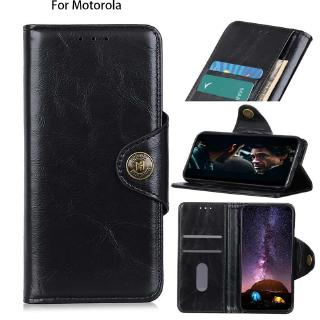 PU Leather grain Wallet case For Motorola Moto Moto E6 Moto SLO Moto Z4 Play E5 Play E5 Plus G6Play E5 luxury Full