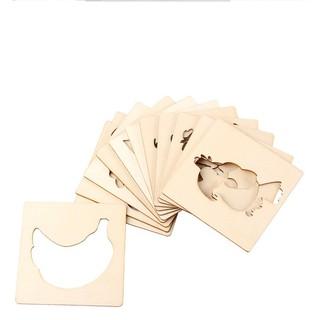 [GIÁ SALE] Bộ thẻ vẽ hình (24 thẻ) dành cho bé tăng cường trí não