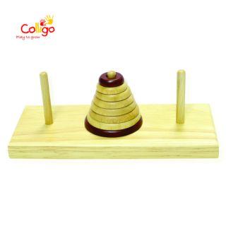 Đồ chơi gỗ Colligo Tháp Hà Nội