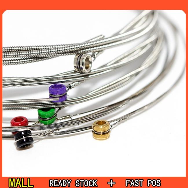 6 Pcs Guitar Strings RX15/RX17/RX19 Electric Guitar Strings Super Light
