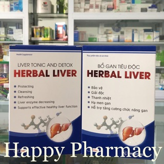 Bổ Gan Tiêu Độc Herbal Liver