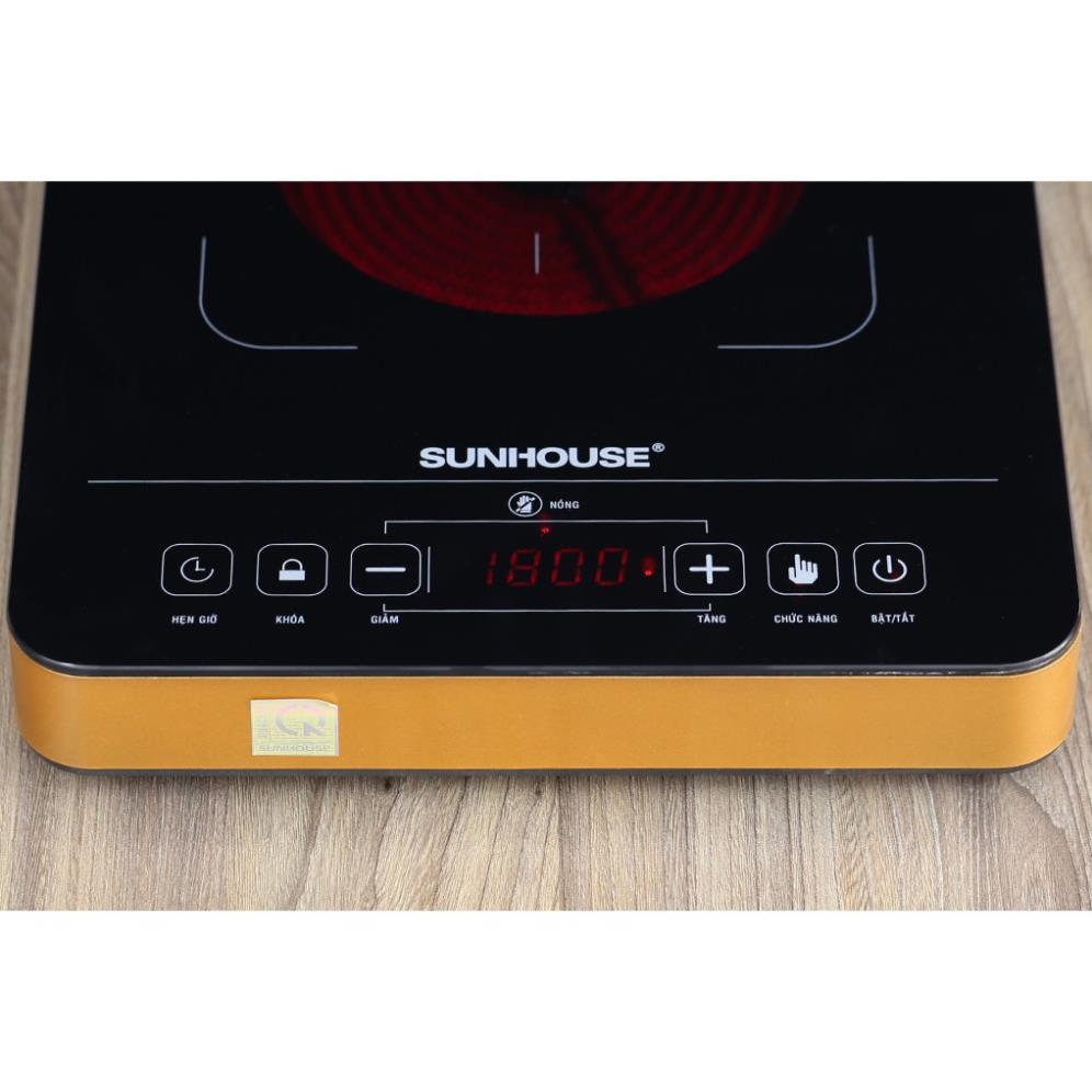Bếp hồng ngoại cảm ứng Sunhouse SHD6015 Hàng chính hãng giá cạnh tranh